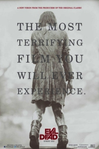 Poster for 2013 horror film Evil Dead