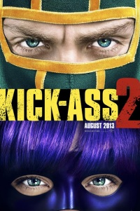 Poster for 2013 comedy film Kick-Ass 2