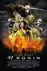 Poster for 2013 fantasy actioner 47 Ronin