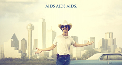 'Honest' poster for Dallas Buyers Club, courtesy of The Shiznit