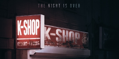 Banner poster for Bournemouth-set thriller K-Shop