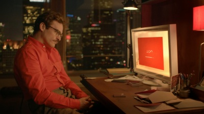 Joaquin Phoenix falls in love with his operating system in Her