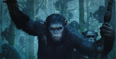 A new trailer has been released for Dawn of the Planet of the Apes