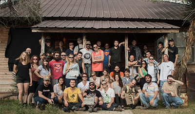 The cast and crew of Found Footage 3D