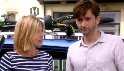 David Tennant and Rosamund Pike play a bickering couple in What We Did On Our Holiday