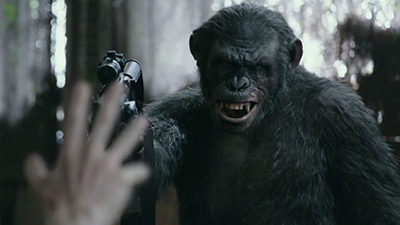 Summer box office hit Dawn of the Planet of the Apes