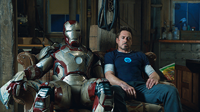 Marvel also hit top spot in 2013 with Iron Man 3