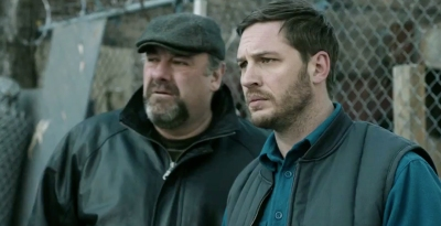 Tom Hardy and the late James Gandolfini star in thriller The Drop