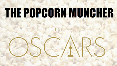The Popcorn Muncher at Oscars 2015