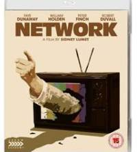 Cover art for the 2015 Arrow Films Blu-ray release of Network