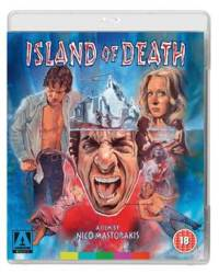 Cover art for the 2015 Arrow Films Blu-ray release of Island of Death