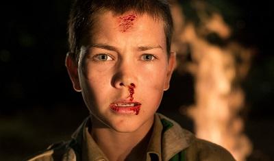 Maurice Luijten stars in Jonas Govaerts' boy scout horror film Cub, aka Welp