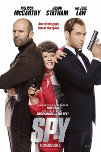 Poster for 2015 action-comedy Spy