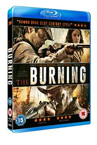 Cover art for the 2015 Arrow Films Blu-ray release of The Burning