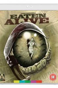 Cover art for the 2015 Arrow Films Blu-ray release of Eaten Alive