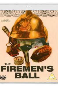 Cover art for the 2015 Arrow Films Blu-ray release of The Firemen's Ball